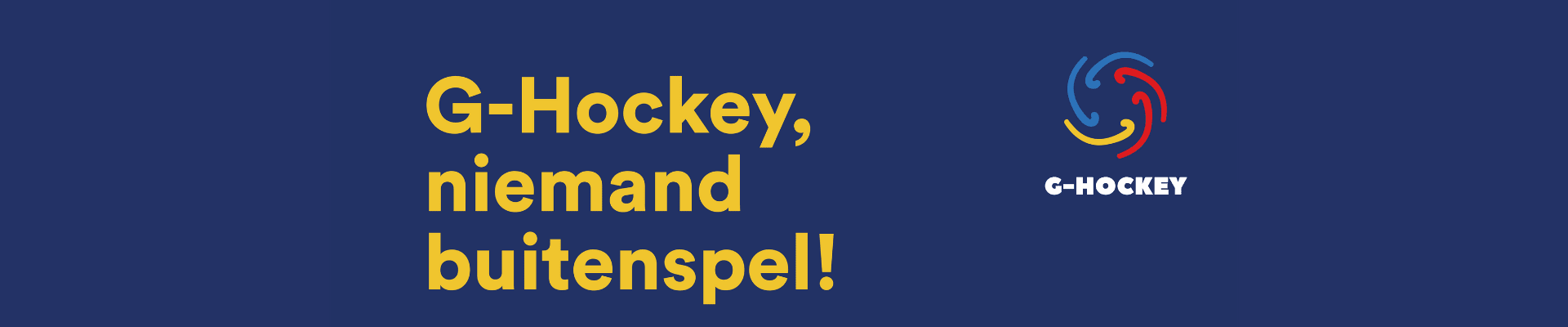 Gezocht: hulp bij oprichting G-hockey